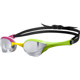 arena Cobra Ultra Mirror Lunettes de protection, silver-green-pink